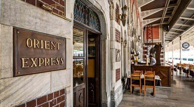 Orient Express, Stasiun Sirkeci, Istanbul. | via: Alamy