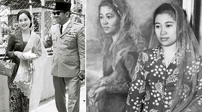 Kebaya merupakan busana kenegaraan saat Presiden melakukan lawatan ke luar negeri, seperti yang dikenakan Fatmawati dan Dewi Soekarno