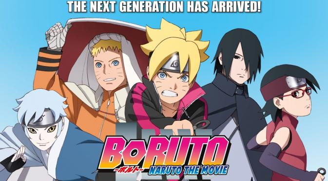 Anime Boruto: Naruto the Movie.