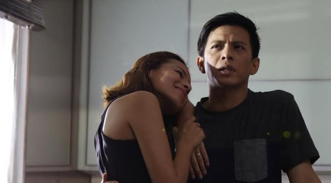 Ariel NOAH dan Nina Kozok (Liputan6.com/Herman Zakharia)