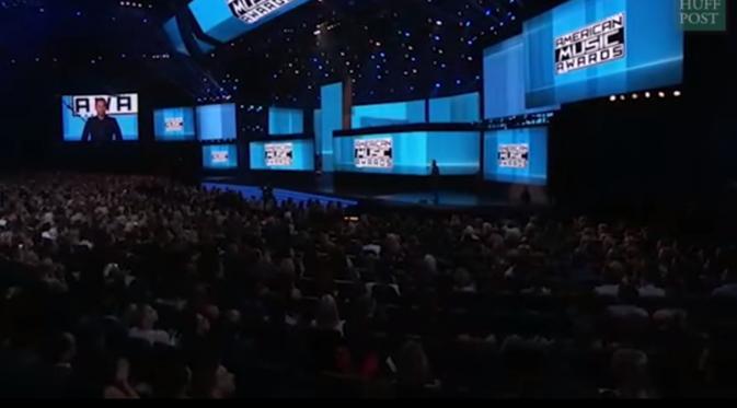 American Music Awards 2015 (Huffington Post)