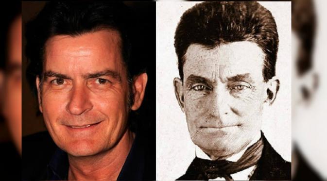 Apakah ini doppelganger, Charlie Sheen atau orang yang sama? (Oddee.com)