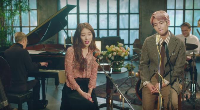 Suzy `Miss A` dan Baekhyun `EXO`