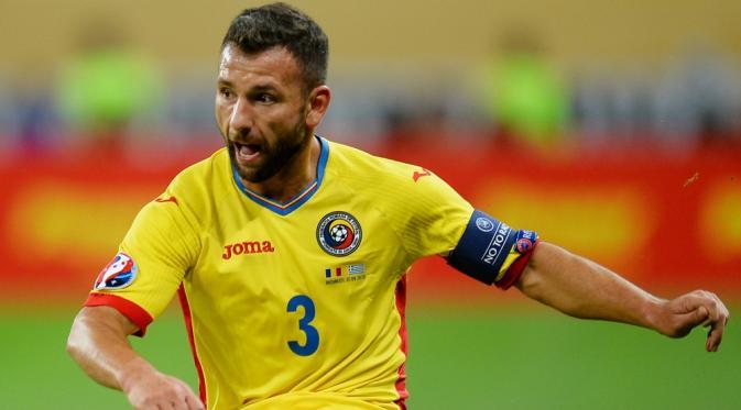 Bintang tim nasional Rumania, Razvan Rat. (AFP/Daniel Mihailescu)