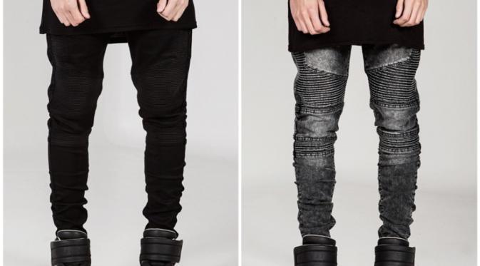 skinny jeans membuat kaki kamu semakin kecil (via: istimewa)