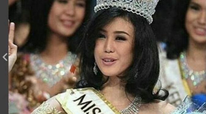 Miss Indonesia 2016 Natasha Mannuela.