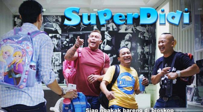 Film Super Didi. Foto: Instagram (@vinogbastian__)