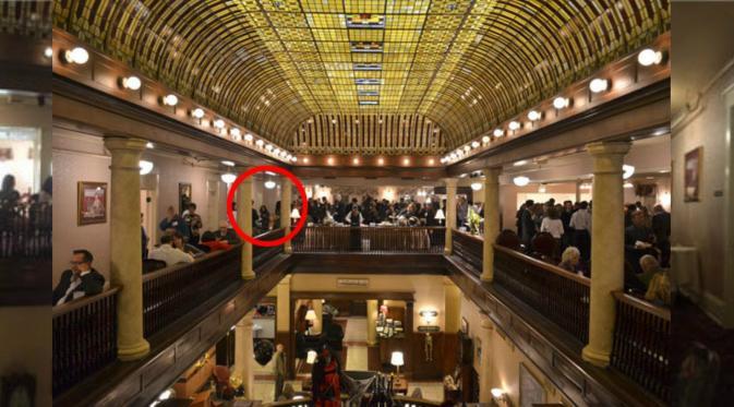 Fotografer dan staf hotel mengatakan tidak ada tamu undangan yang memenuhi gambaran wanita di dalam foto. (daily star)