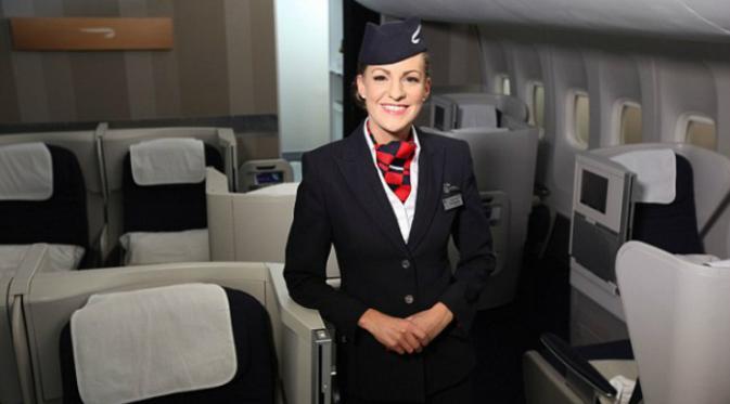 Pramugari British Airways (Foto: Nick Morrish/British Airways).