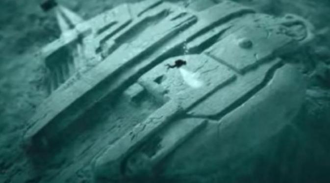 Misteri 'Kapal Alien' di Dasar Laut, Menunggu untuk Dipecahkan...