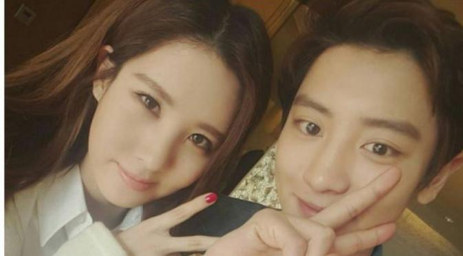 Seohyun SNSD dan Chanyeol EXO di film So I Married My Anti-Fan. foto: Instagram