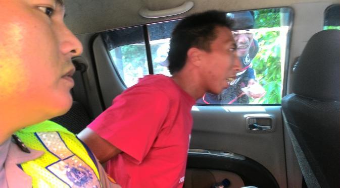 Budiansyah tersangka pembunuhan dan pencabulan bocah 2,5 tahun di Kabupaten Bogor.