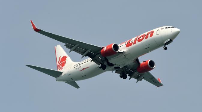 Pesawat Lion Air boeing 737-800 (Roslan RAHMAN/AFP)