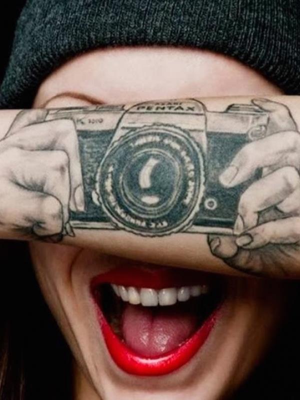 520 Koleksi Gambar Tato Keren Di Tangan Pakai Pena HD Terbaik