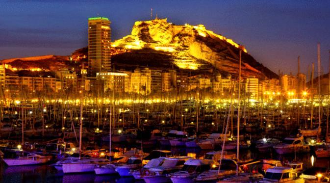 Alicante, Spanyol (Sumber:flybe)