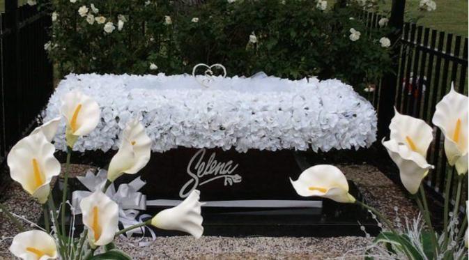Tempat peristirahatan terakhir Selena Quintanilla-Pérez (Pinterest)