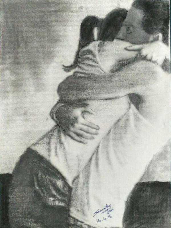 700 Koleksi Gambar Lukisan Keren Hitam Putih HD