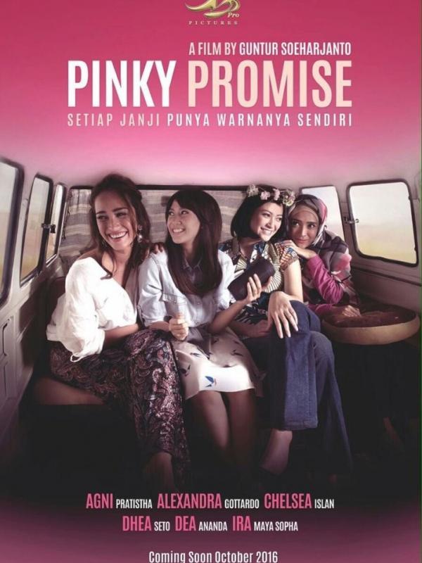 Poster film 'Pinky Promise'. foto: pusatsinopsis.com