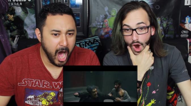The Reel Rejects bereaksi terhadap teaser Headshot (YouTube)