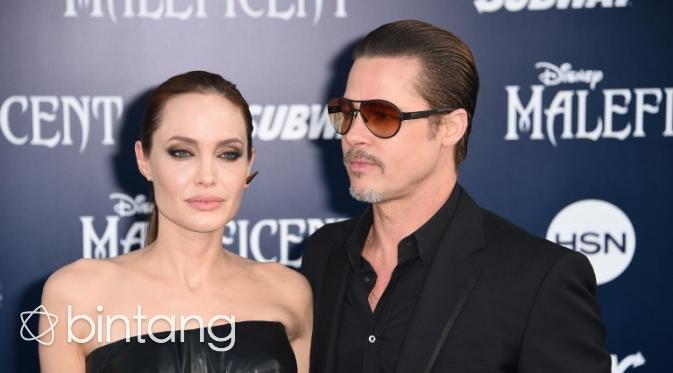 Angelina Jolie dan Brad Pitt bercerai setelah 12 tahun bersama. (AFP/Bintang.com)