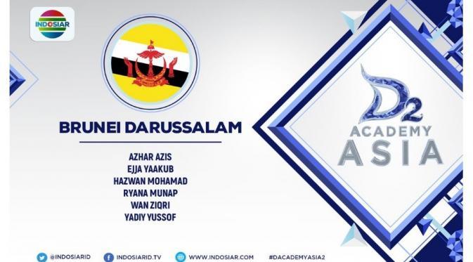Finalis D Academy Asia 2 asal Brunei Darussalam