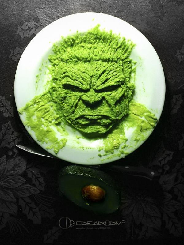 Hulk. (Via: boredpanda.com)