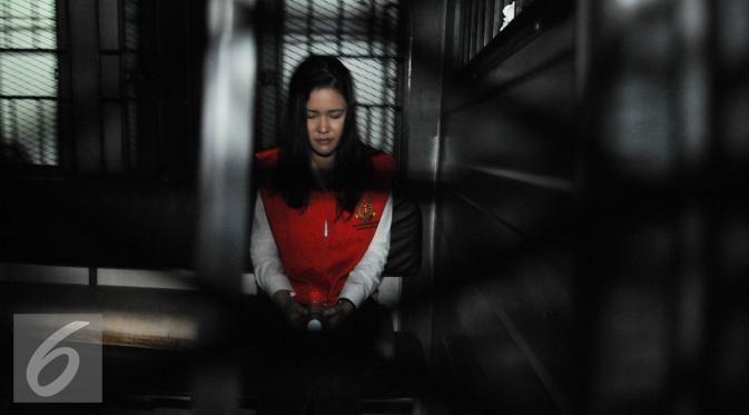Terbukti bersalah atas kasus kematian Wayan Mirna Salihin, Jessica Kumala Wongso akhirnya dihukum penjara 20 tahun. (Liputan6.com/Johan Fatzry)