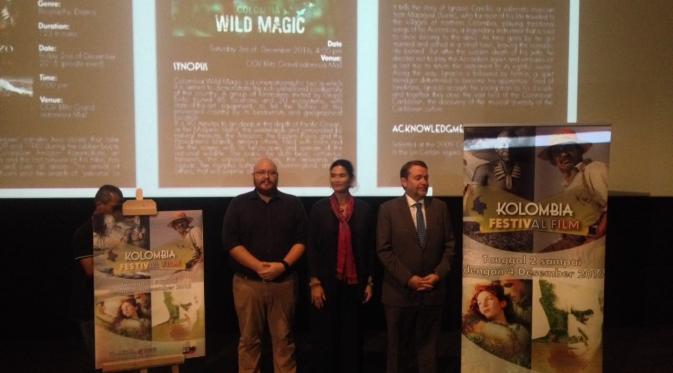 Kolombia Film Festival akan diselenggarakan di CGV Blitz Grand Indonesia pada 2-4 Desember 2016 (Liputan6.com/Nurul Basmalah)