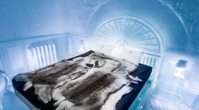 Kamar Tidur di Hotel Es