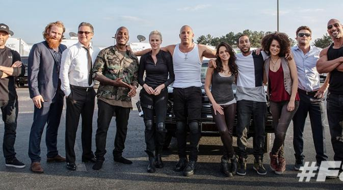 The Fate of the Furious (Fast and Furious 8). (Coming Soon)