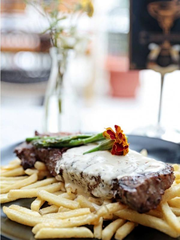 Mockingbird Steak. (Deki Prayoga/Bintang.com)