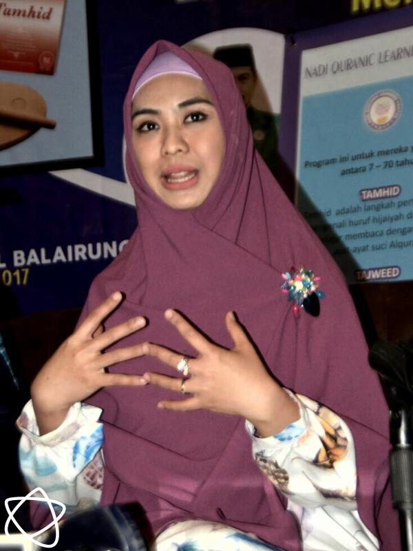 Oki Setiana Dewi. (Muhamad Altaf Jauhar/Bintang.com)