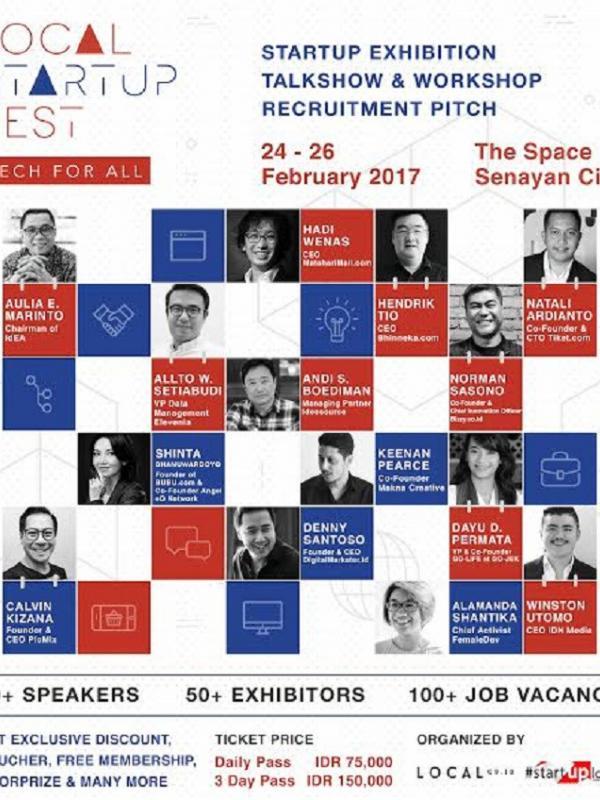 Local Startup Fest, Ajang Inspirasi dalam Membangun Usaha | foto : istimewa