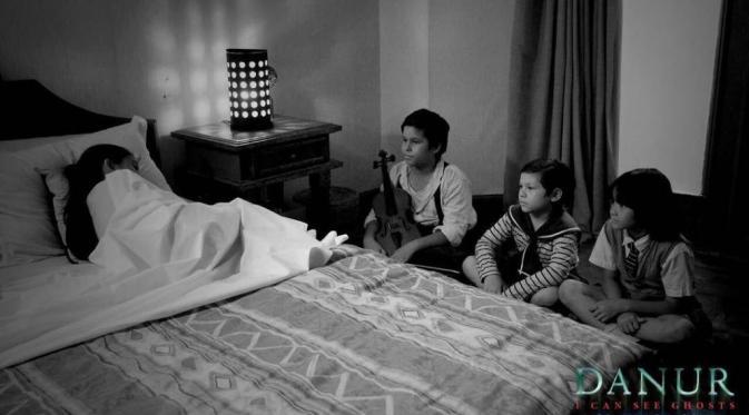 Ini 3 sosok hantuk kecil yang jadi sahabat Prilly Latuconsina di film Danur. (Instagram.com/danurmovie)