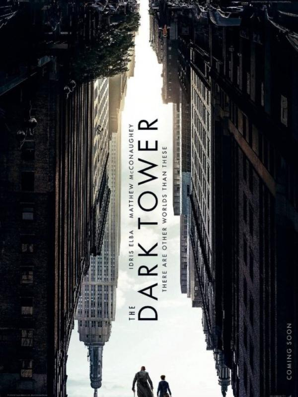 Poster The Dark Tower munculkan dunia yang terbalik. (Via: MovieWeb)