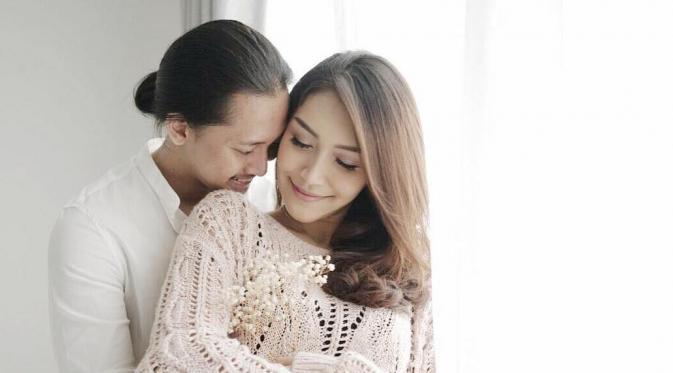 Melody Prima dan suaminya, Tommy Bagus