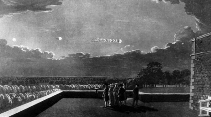 Ternyata, ada beberapa nama terkenal dalam sejarah yang pernah melaporkan penampakan UFO di masa lalu. (Sumber Ancient UFO)