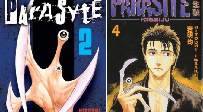Film Parasyte berkisah mengenai bangsa alien yang mengambil alih manusia bumi dengan memasuki otaknya.