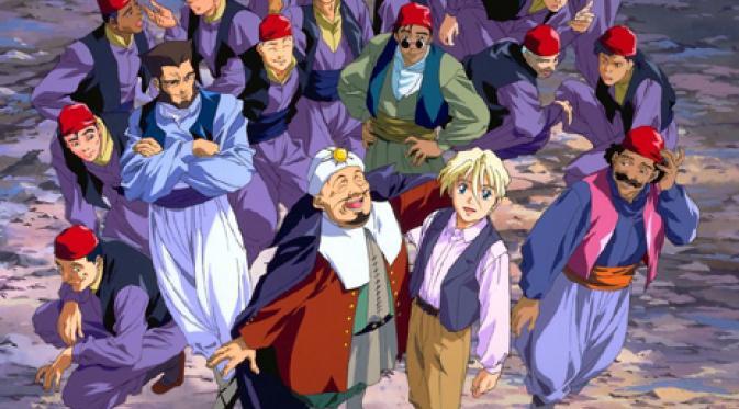 Siapa saja karakter anime yang sempat diduga menganut agama Islam oleh beberapa penggemarnya?