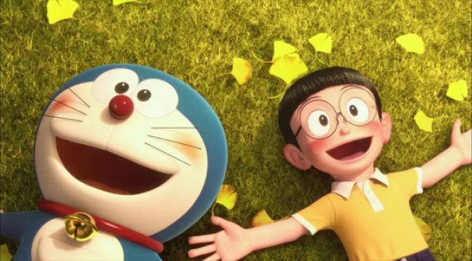 Nobita dan Doraemon (Pinterest)
