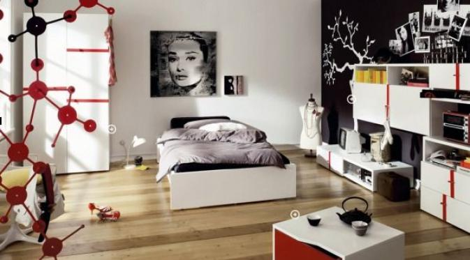 10 Dekorasi Kamar Tidur Cantik Bagi Remaja Wanita Lifestyle Liputan6 Com