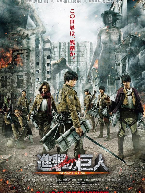 Sebuah poster dan trailer baru untuk film Attack on Titan telah dirilis.
