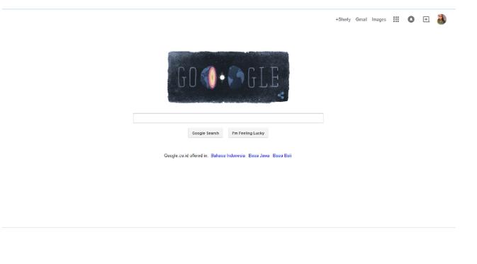 Google doodle hari ini | via: google.com