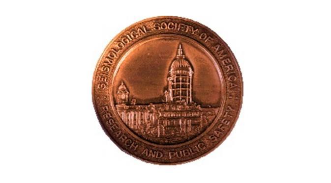 Medal of The Seismological Society of America (1977)   via: en.wikipedia.org