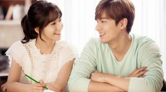 Lee Min Ho dan Yoona SNSD menjadi pasangan yang serasi di drama 'Innisfree Summer Love'. Foto: kdramastars.com