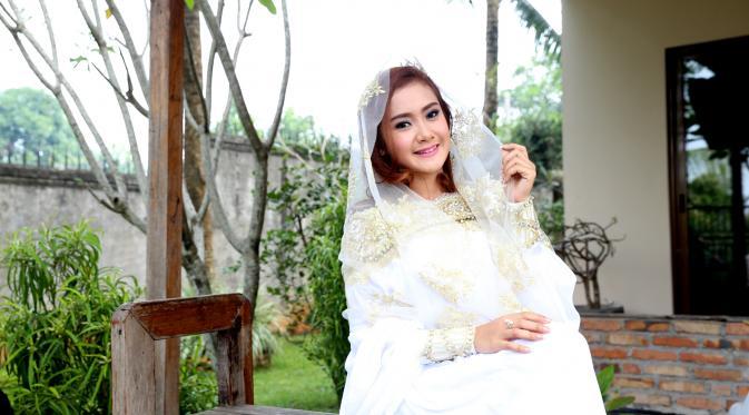Cita Citata syuting video klip baru berjudul Bersyukurlah (Foto: WImbarsana/Bintang.com)