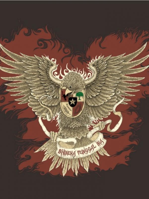 Garuda Pancasila (Via: deviantart.com)