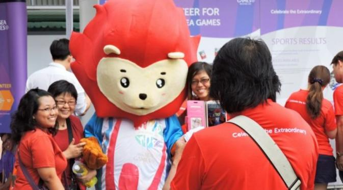 Maskot SEA Games 2015 | via: bulet.in