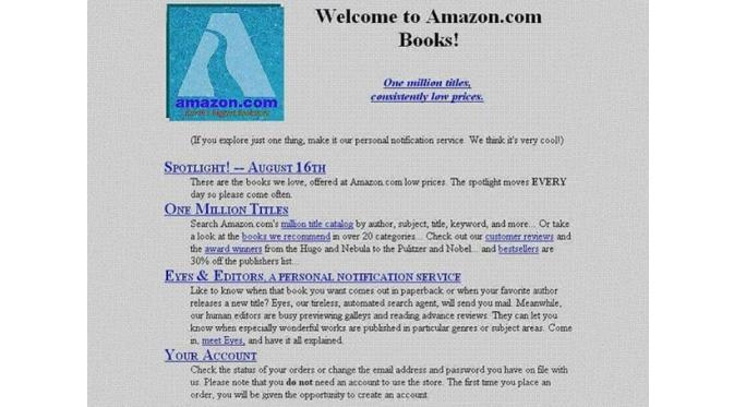Amazon dulu | via: buzzfeed.com