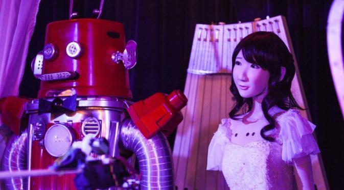 pernikahan sesama robot
